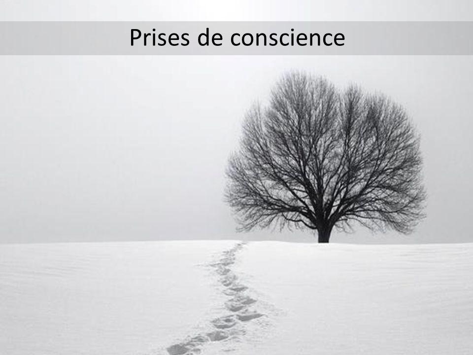 Prises de conscience
