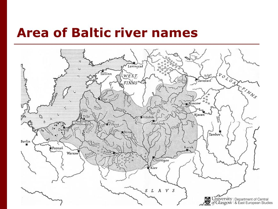 Latvian and Lithuanian  Split between Latvian and Lithuanian happened between the 1 st - 5 th centuries and the 7 th century AD  Tribes in the north had more contact with Finno-Ugric tribes, those in the south had more contact with Slav tribes – these influences caused split  It is thought that Lithuanian remained more archaic than Latvian because Slav languages also Indo-European and therefore there were more similarities