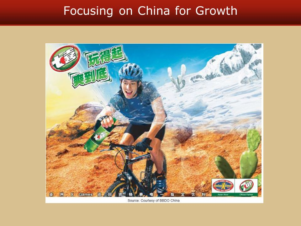 Focusing on China for Growth