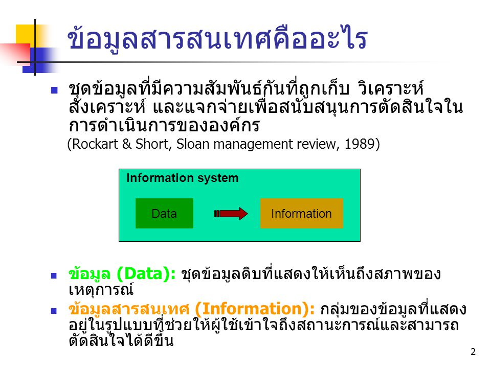 13 Decision making process & Information systems MIS, ESS MIS DSS TPS