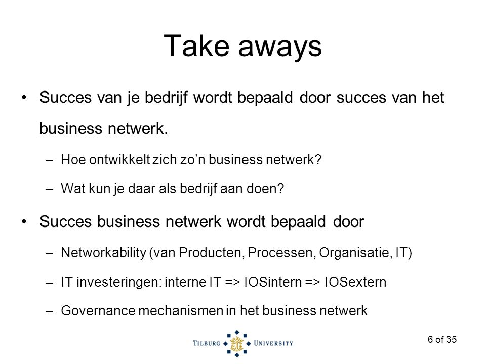 27 of 35 Aces Direct IT retail in Nederland OEMs Business client BB product specification services Icecat BB order processing services Onetrail 67 BB IT services IT companies BB lease services Lease Companies BB Physical distribution services DHL Microsoft HP Toshiba Aces Direct TechData IT retail markt (NL): € 2 mrd /jr AD 1-2% markt aandeel; 17 fte TD (NL) € 400 mln/yr Ingram Micro Copaco ECT Pluz SMEs