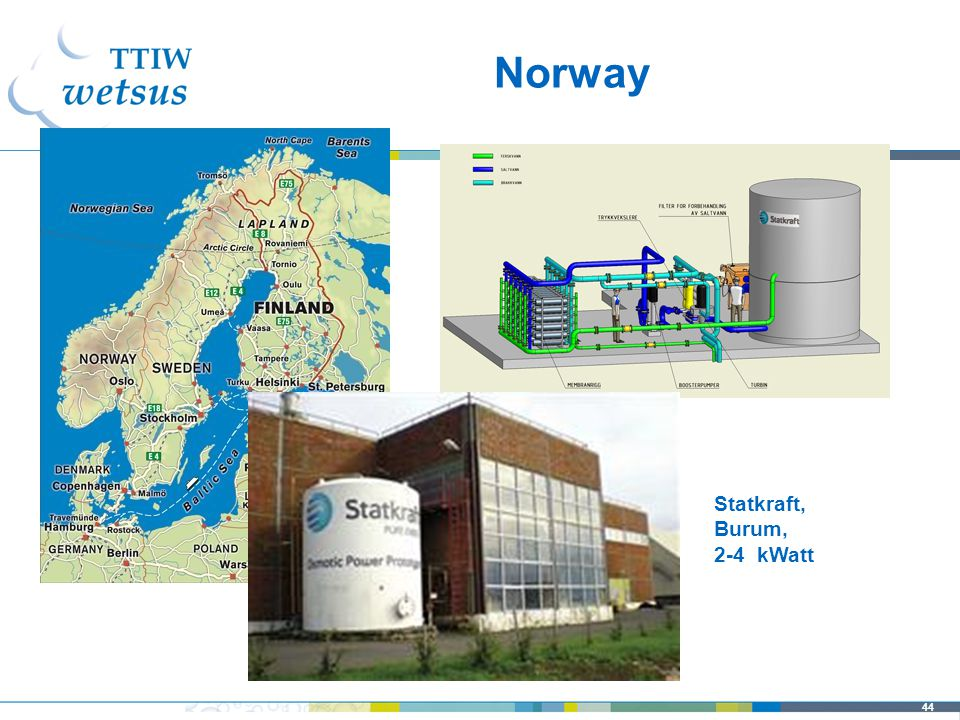 44 Norway Statkraft, Burum, 2-4 kWatt