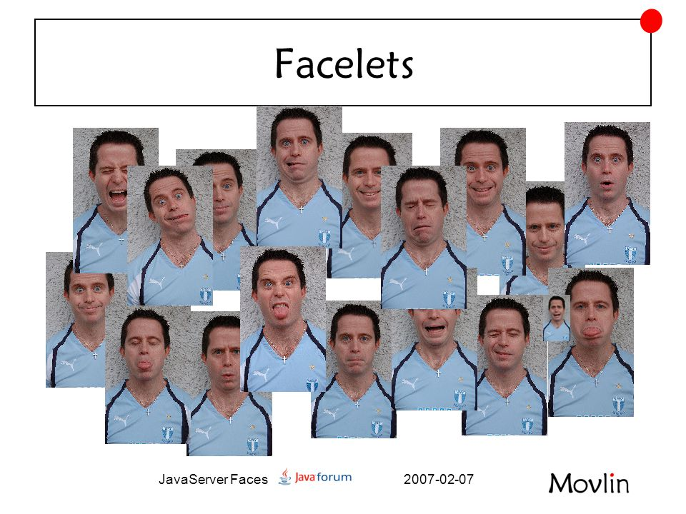 2007-02-07JavaServer Faces Facelets