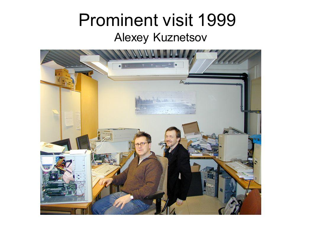 Prominent visit 1999 Alexey Kuznetsov