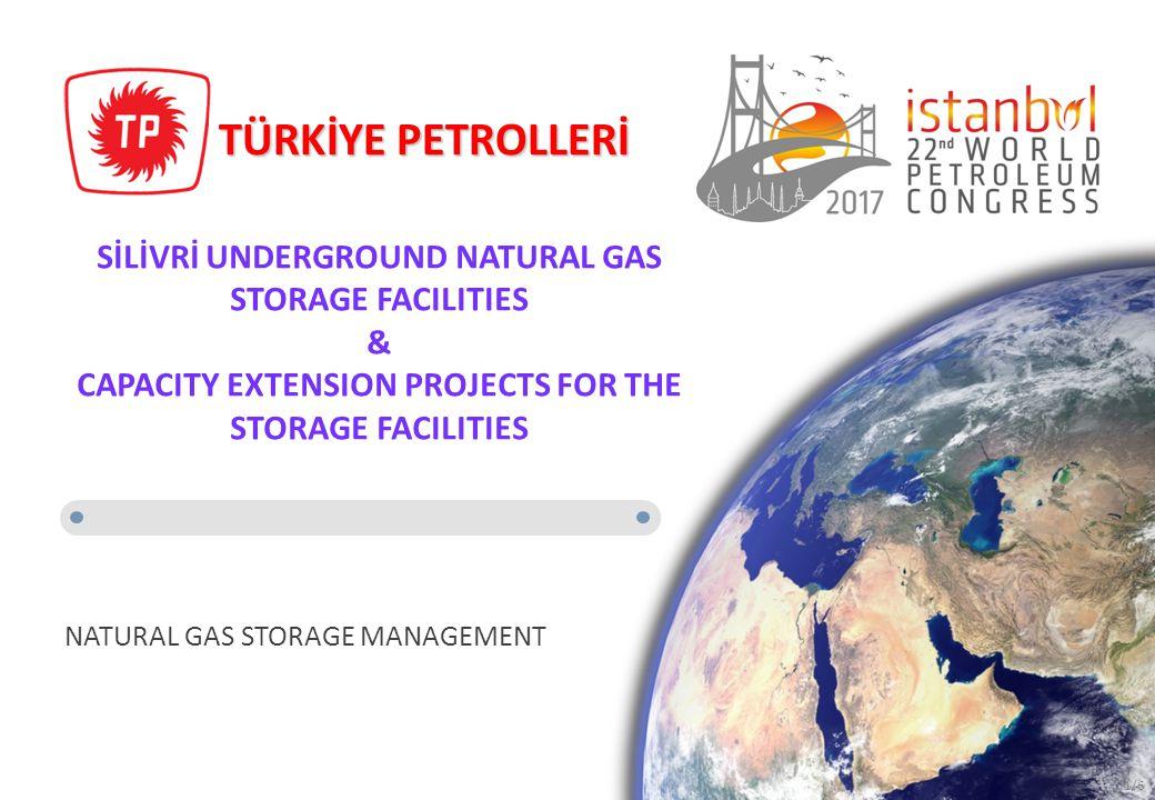 TÜRKİYE PETROLLERİ NATURAL GAS STORAGE MANAGEMENT SİLİVRİ UNDERGROUND NATURAL GAS STORAGE FACILITIES & CAPACITY EXTENSION PROJECTS FOR THE STORAGE FAC
