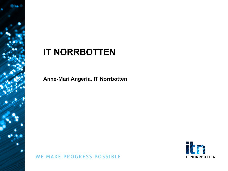IT NORRBOTTEN Anne-Mari Angeria, IT Norrbotten