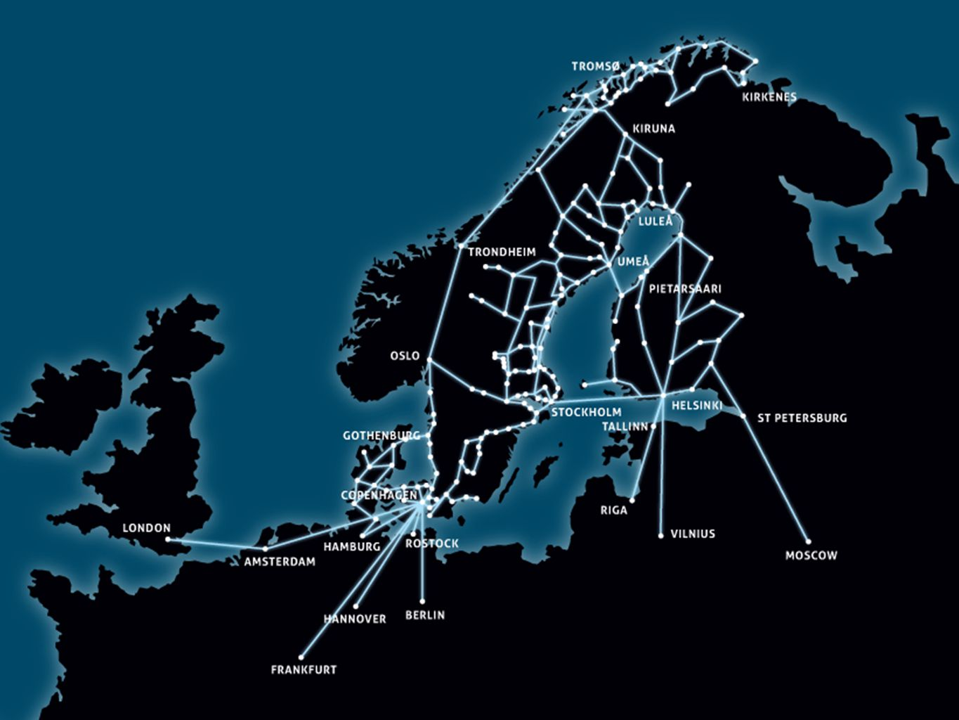 PROGRAM FOR REGIONAL DEVELOPMENT •Economic growth depends on well- developed broadband infrastructure •Information society for all through the continued expansion of broadband network •The basic requirement for strengthening competitiveness and prosperity in Norrbotten