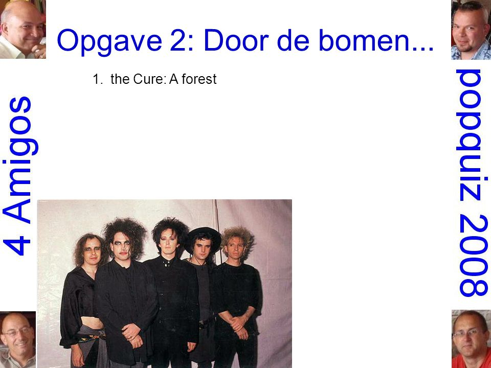 1.the Cure: A forest