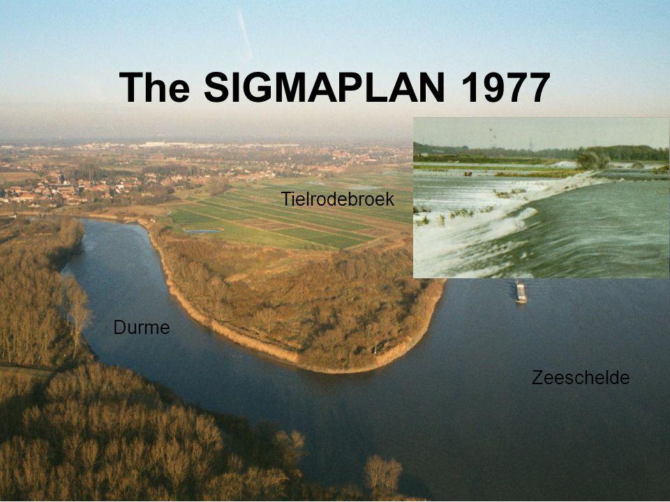 The SIGMAPLAN 1977 Zeeschelde Durme Tielrodebroek
