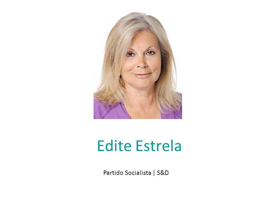 Edite Estrela Partido Socialista | S&D