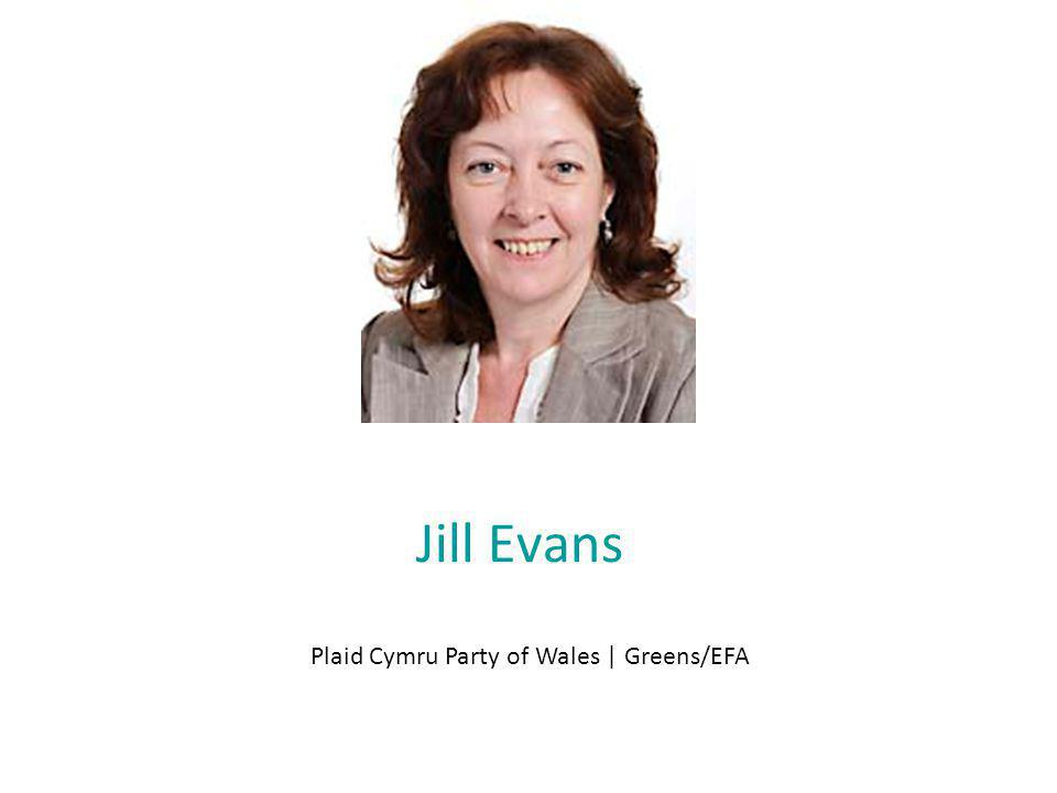 Jill Evans Plaid Cymru Party of Wales | Greens/EFA