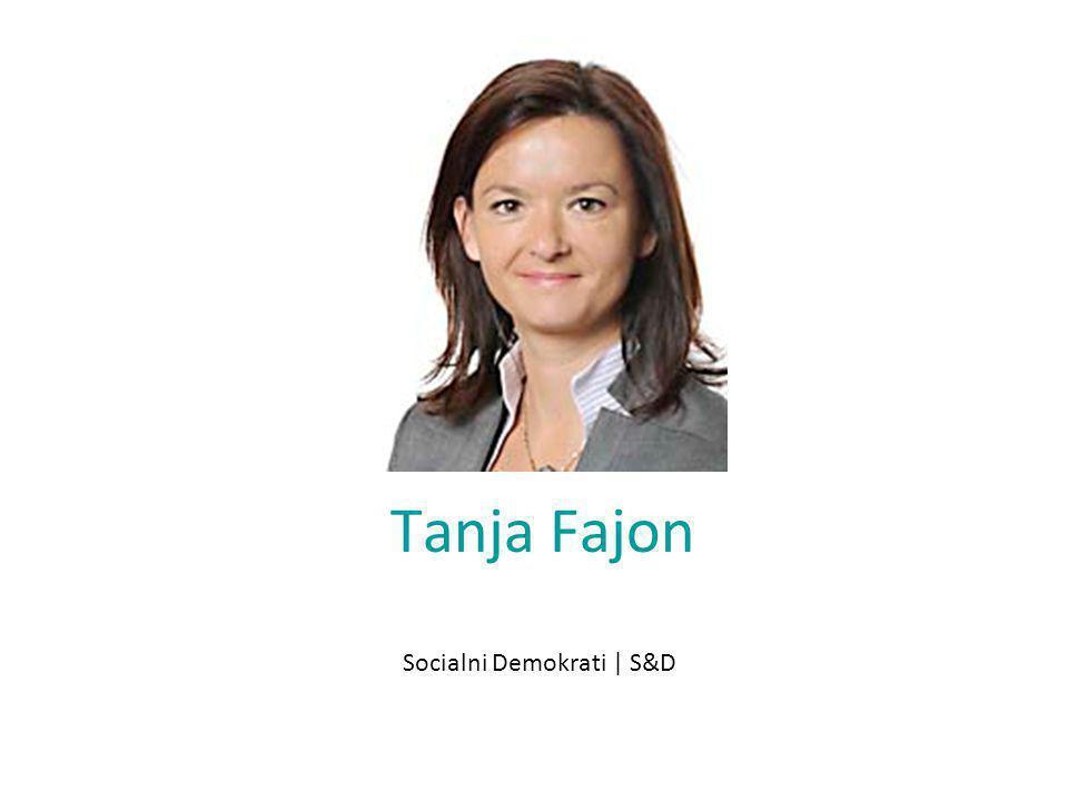 Tanja Fajon Socialni Demokrati | S&D