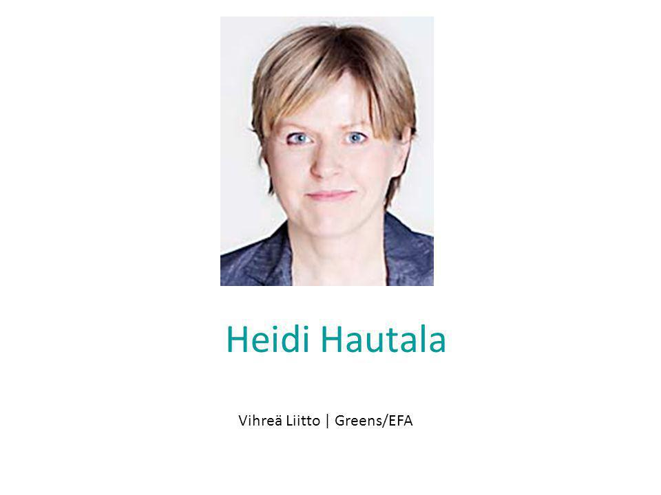 Heidi Hautala Vihreä Liitto | Greens/EFA