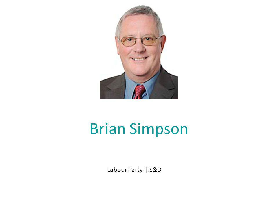 Brian Simpson Labour Party | S&D