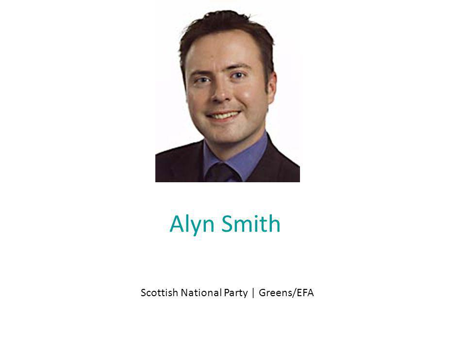 Alyn Smith Scottish National Party | Greens/EFA