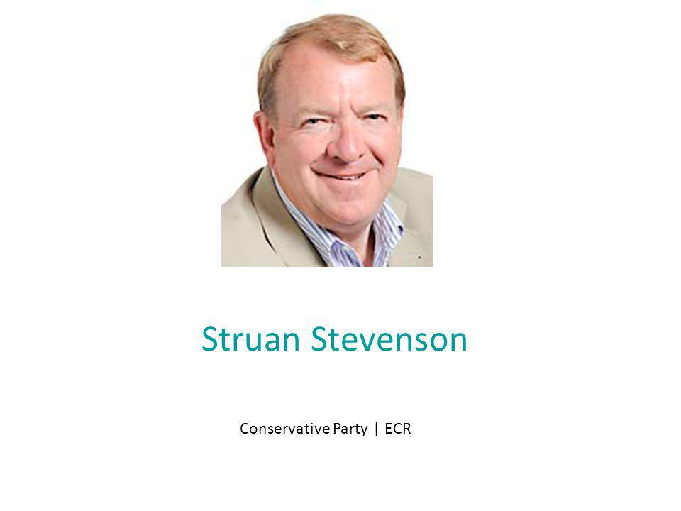 Struan Stevenson Conservative Party | ECR
