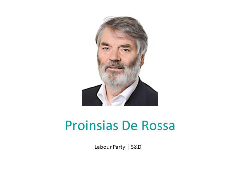 Proinsias De Rossa Labour Party | S&D