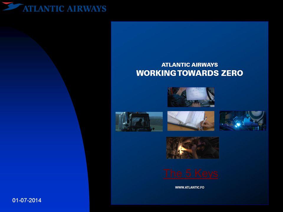 01-07-2014Working towards Zero The 5 Keys