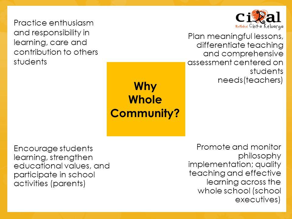 Why Whole Community.