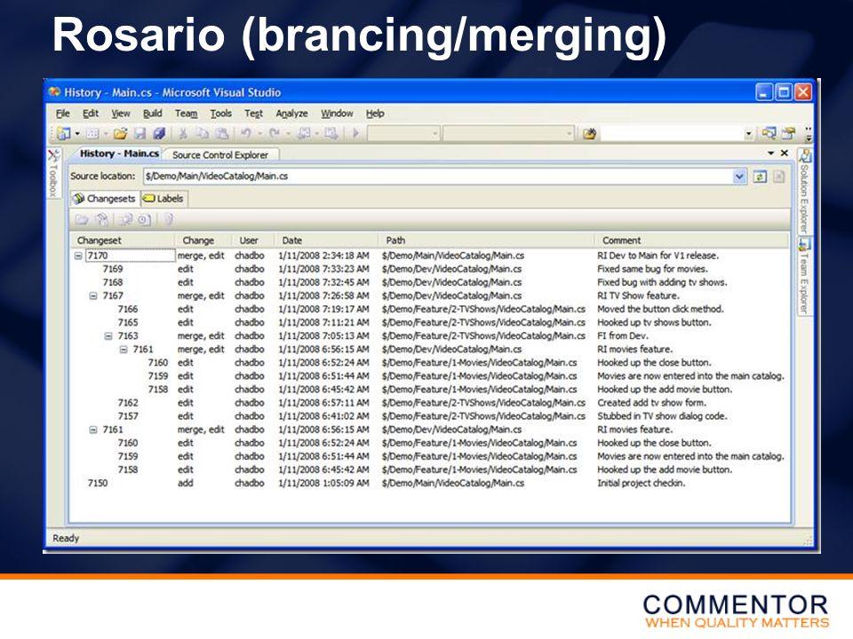 Rosario (brancing/merging)