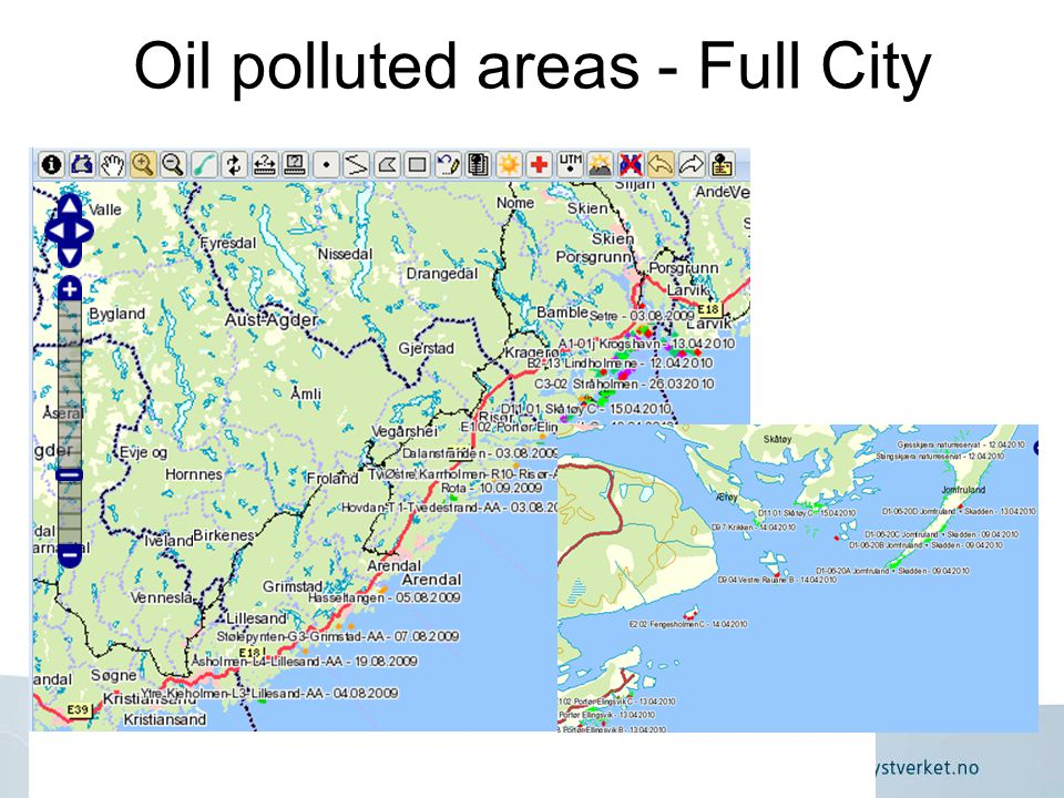 Norwegian Coastal Administration, Department for Emergency Response Oil polluted areas - Full City