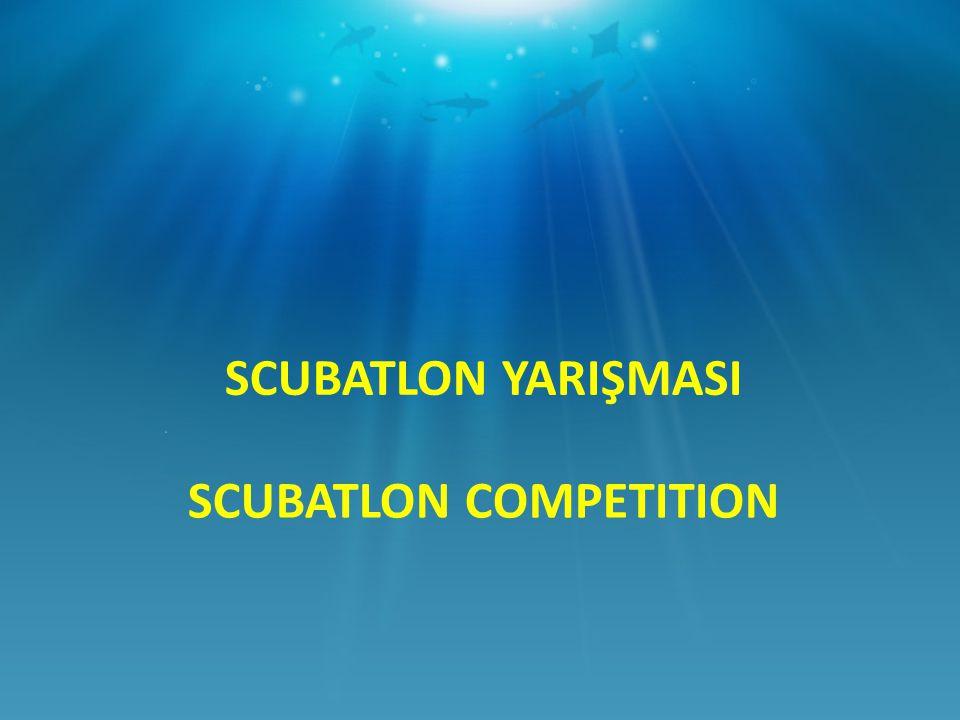 SCUBATLON COMPETITION WINNER SCUBATLON YARIŞMASI BİRİNCİLİK ÖDÜLÜ