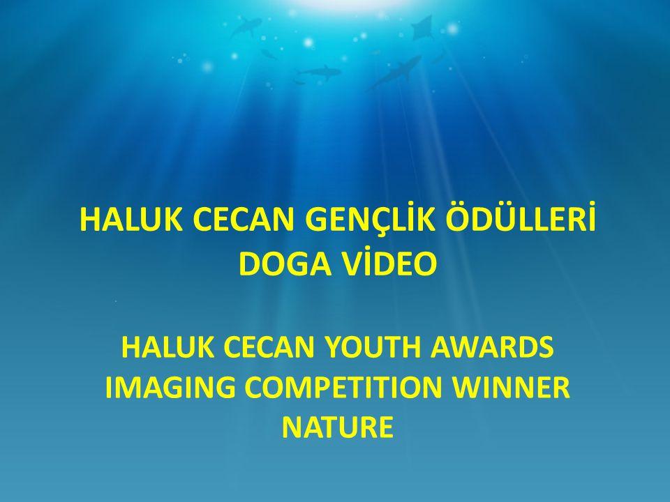 HALUK CECAN YOUTH AWARDS IMAGING COMPETITION WINNER NATURE HALUK CECAN GENÇLİK ÖDÜLLERİ DOGA VİDEO