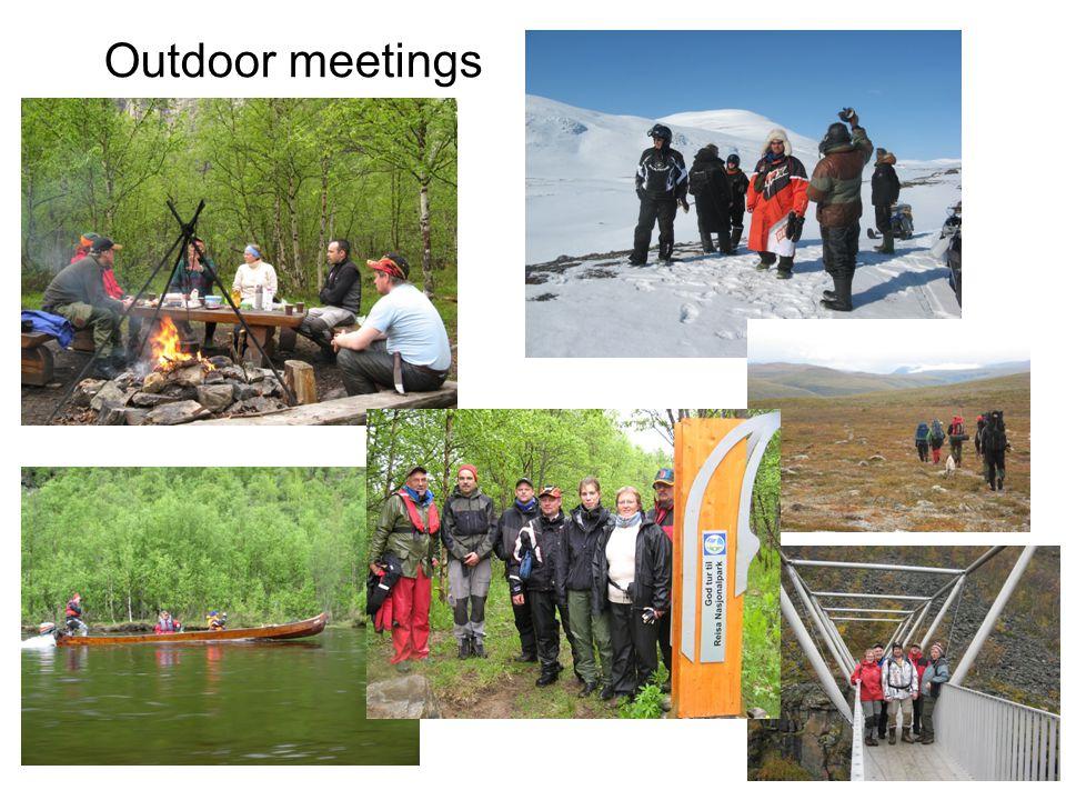 Outdoor meetings