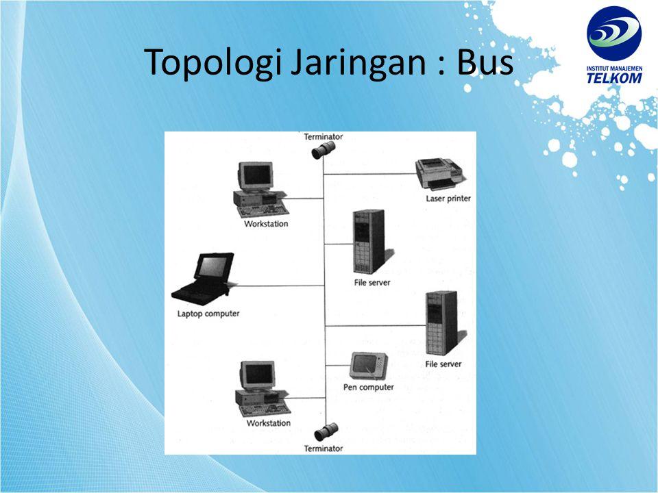 Topologi Jaringan : Bus
