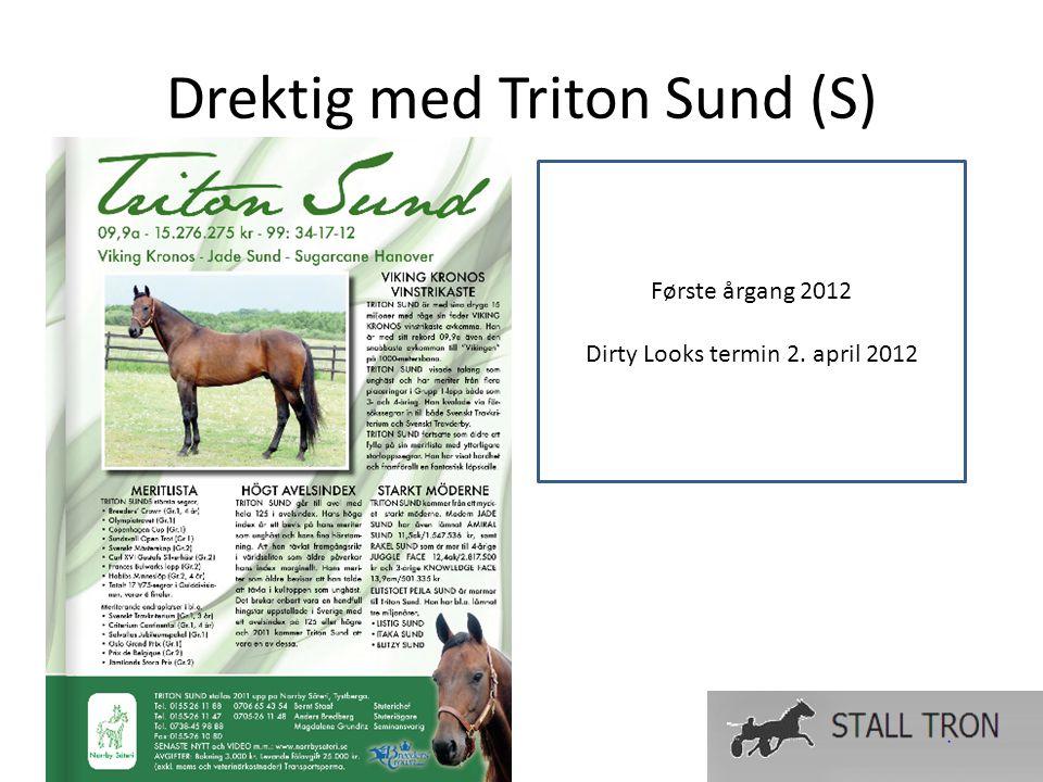 Drektig med Triton Sund (S) Første årgang 2012 Dirty Looks termin 2. april 2012