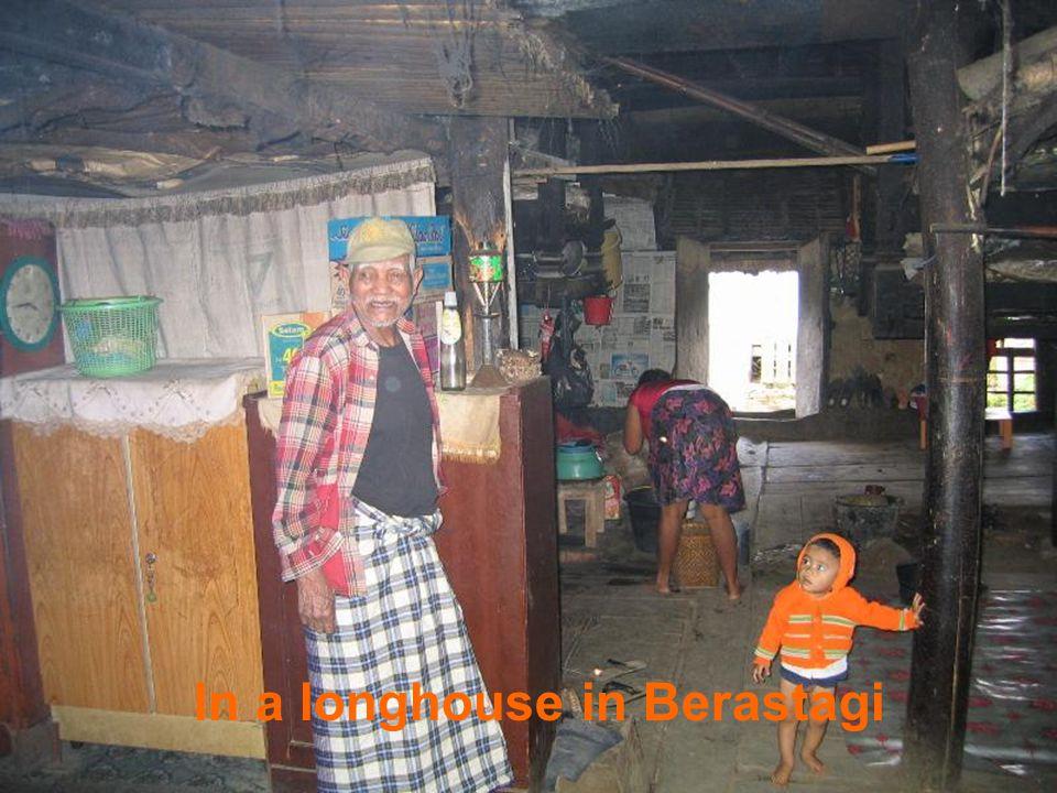 The market in Berastagi