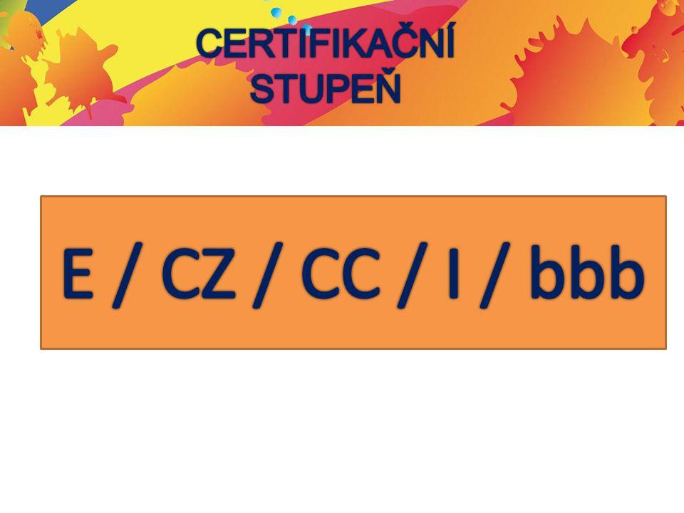 Certifikační stupeň