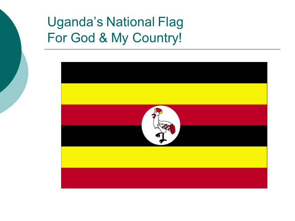 Uganda's National Flag For God & My Country!