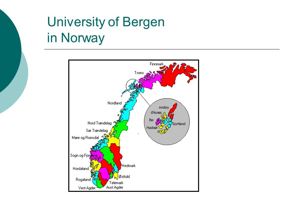 University of Bergen in Norway