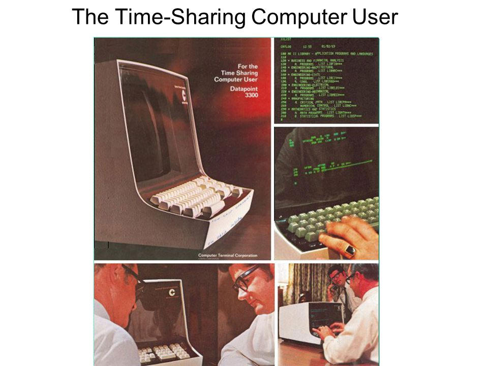 The Time-Sharing Computer User