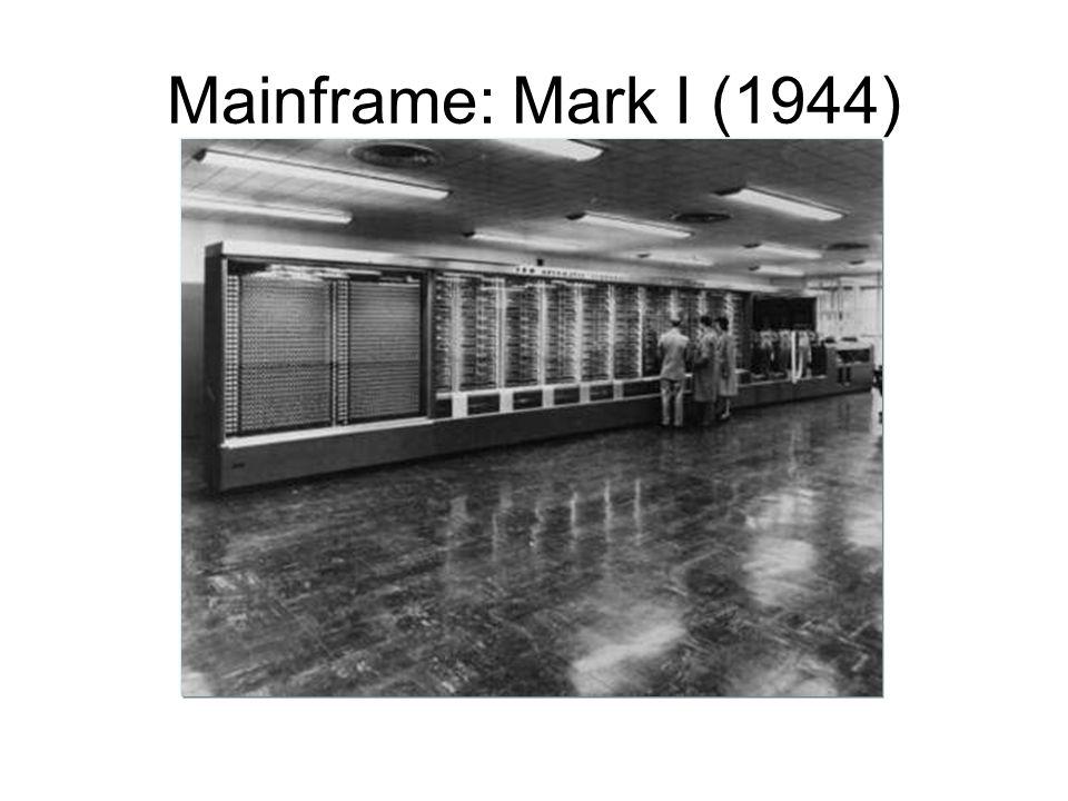 Mainframe: Mark I (1944)