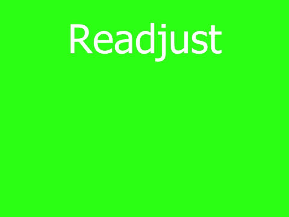 Readjust
