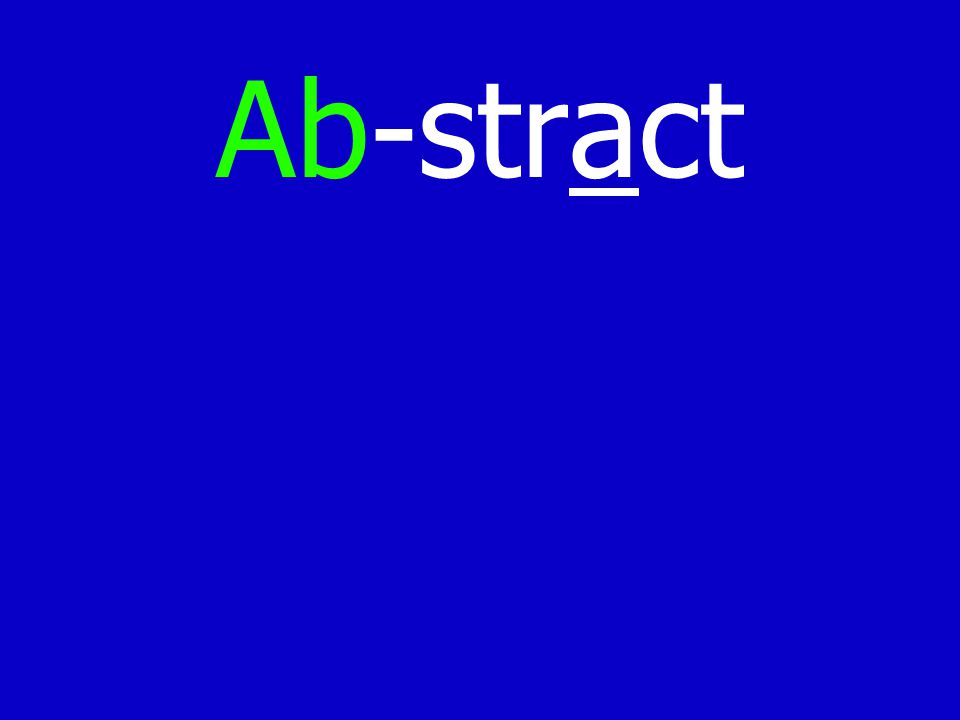 Ab-stract