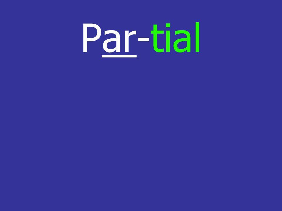 Par-tial