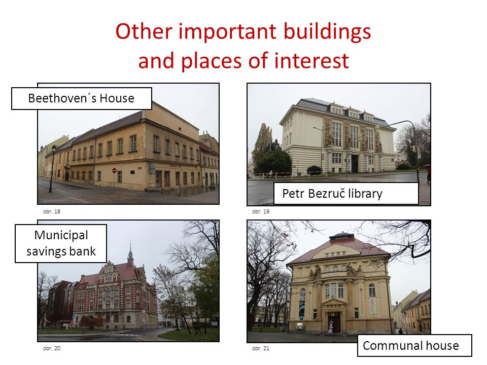 Other important buildings and places of interest obr.