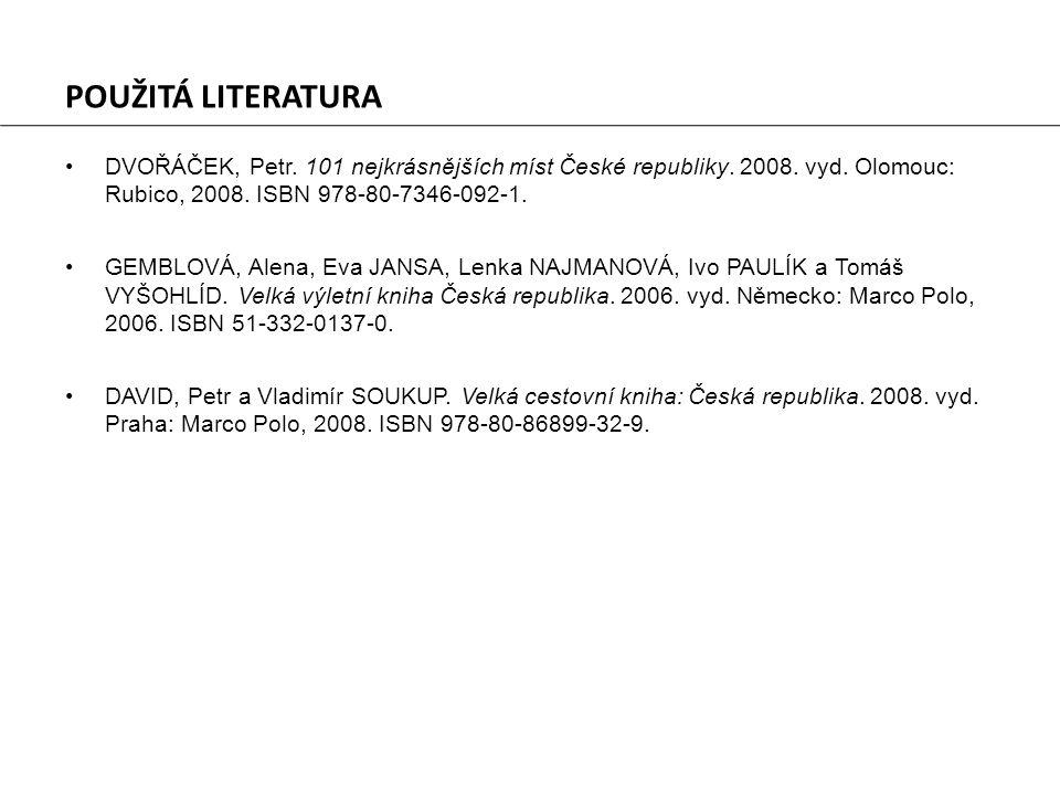 •DVOŘÁČEK, Petr. 101 nejkrásnějších míst České republiky.