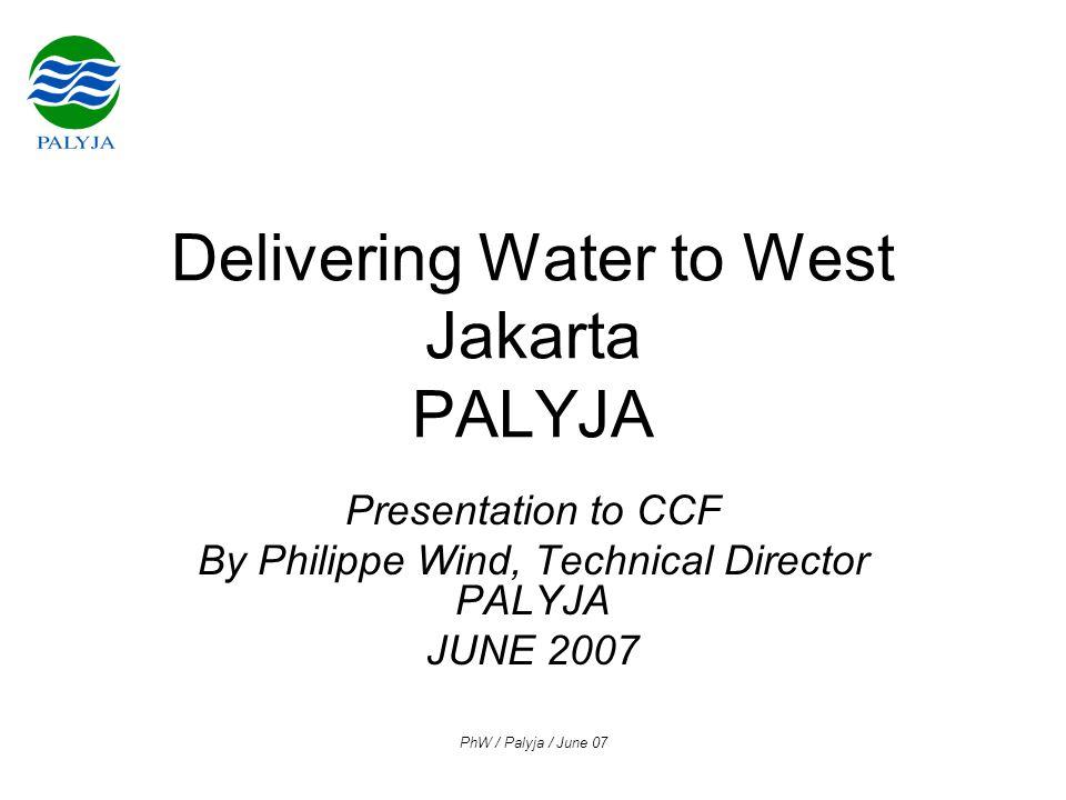 PhW / Palyja / June 07 PALYJA Investments