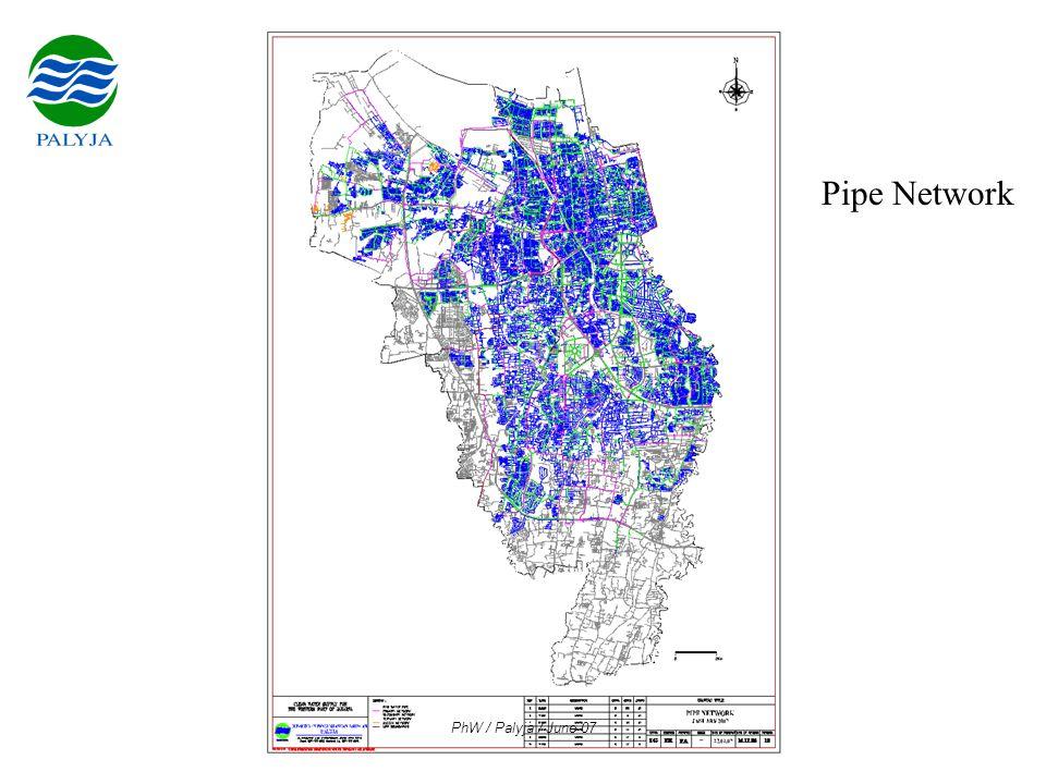 PhW / Palyja / June 07 Pipe Network
