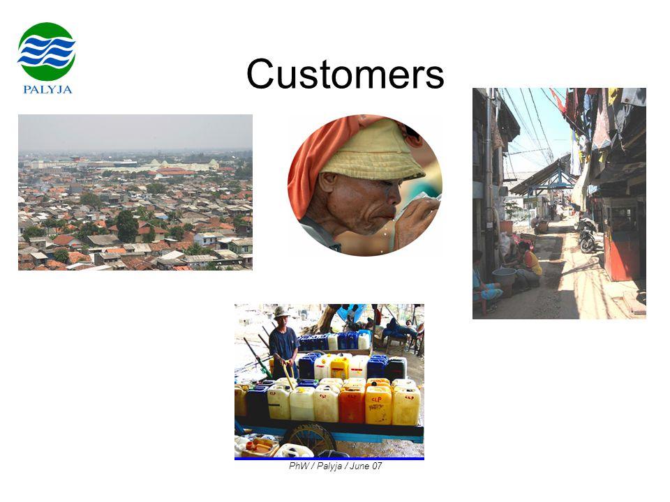 PhW / Palyja / June 07 Customers