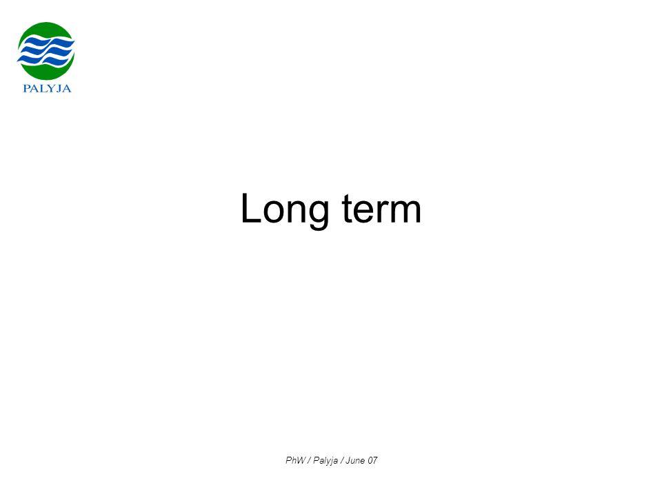 PhW / Palyja / June 07 Long term