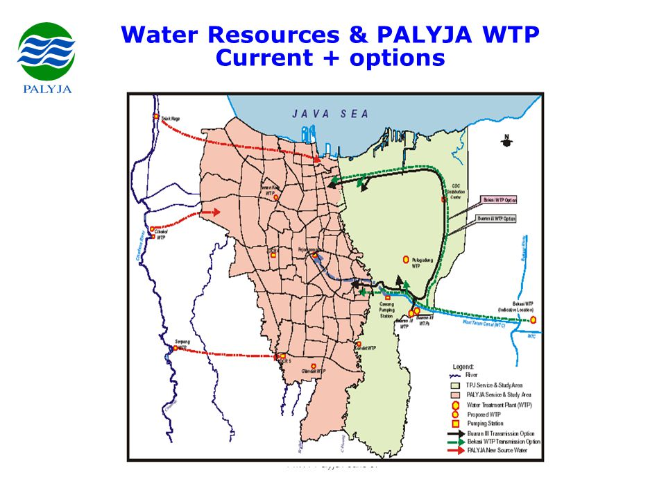 PhW / Palyja / June 07 Key issues for future •estimated 20% water deficit between supply and demand.