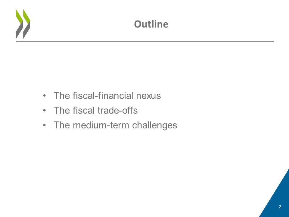 •The fiscal-financial nexus •The fiscal trade-offs •The medium-term challenges Outline 2
