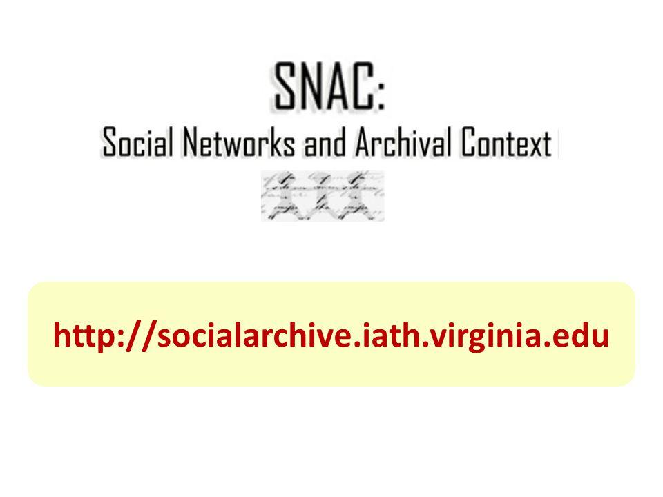 http://socialarchive.iath.virginia.edu
