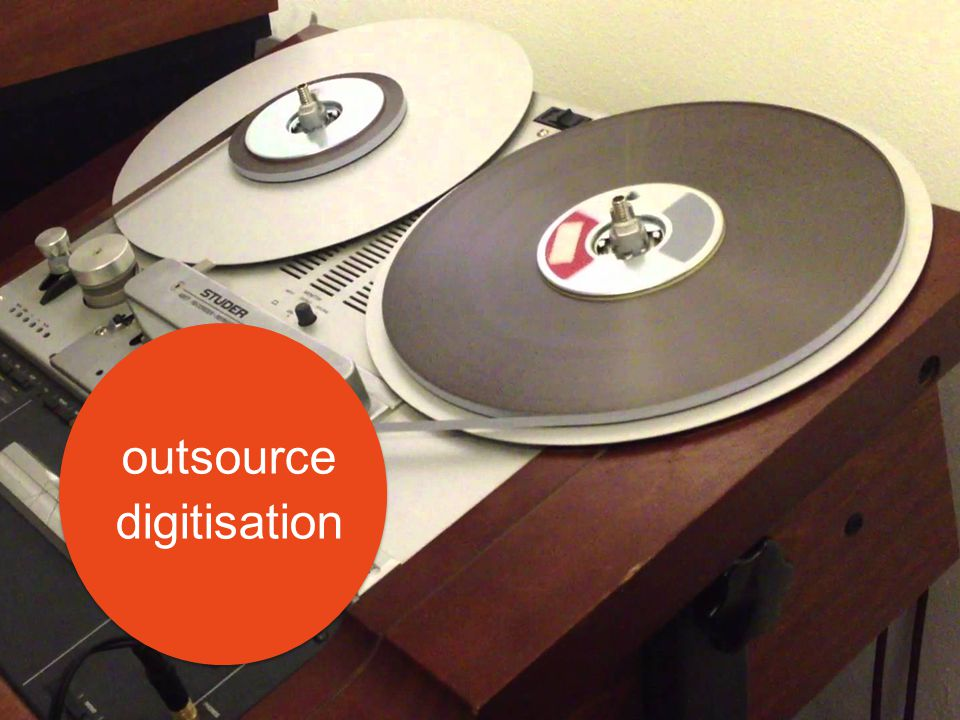 outsource digitisation