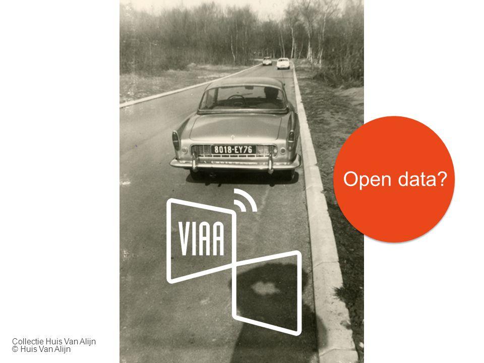 Open data? Collectie Huis Van Alijn © Huis Van Alijn